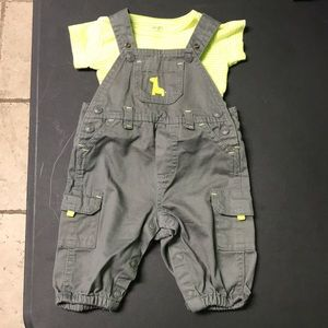 Baby boy overall set